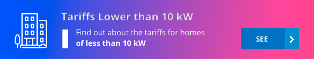 Tariffs for less than 10kW